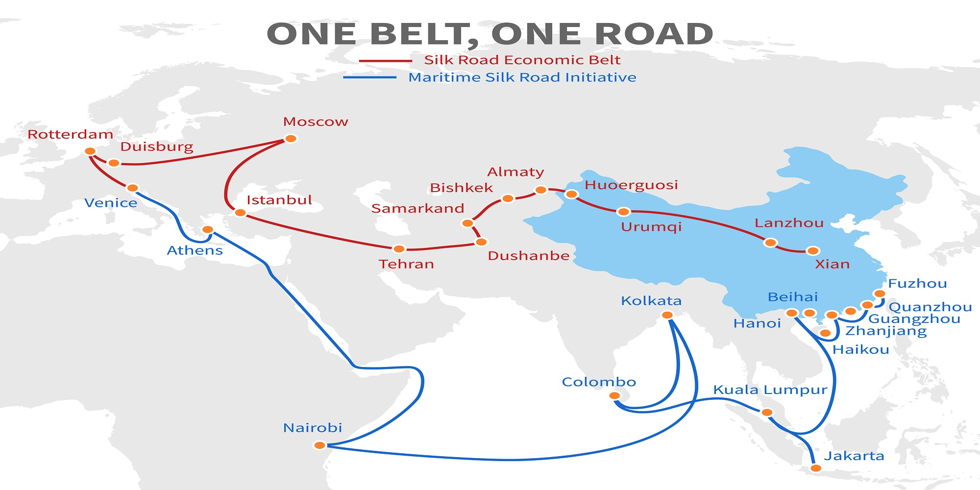 Image result for one-belt one-road